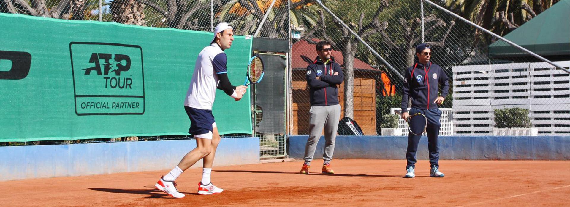 Patnership with SV Tennis Team
